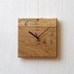 虫喰いの壁掛け時計(四角)